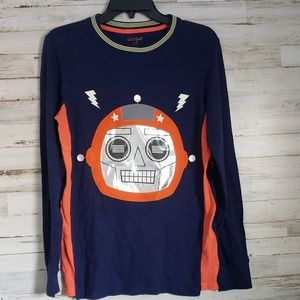 Boys Robot long sleeve shirt